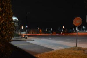 light trail photography shutter speed