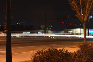 light trail photography shutter speed