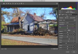 Adobe Photoshop Camera Raw Filter
