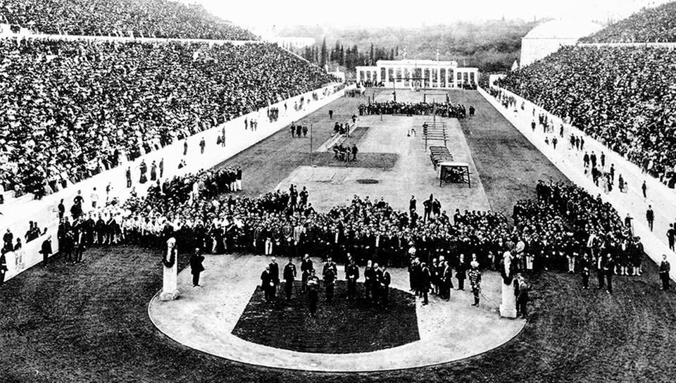 1896_Olympic_opening_ceremony_Sports_Photography